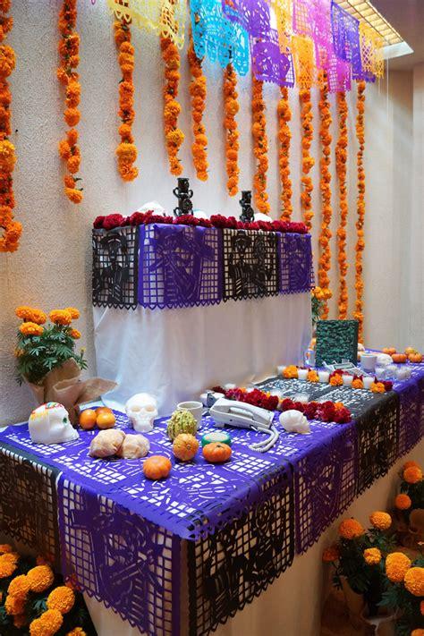 decorando para el d 237 a de muertos casa haus decoraci 243 n - Imagenes De Como Decorar Un Altar De Muertos
