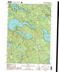 great east lake topographic map me nh usgs topo