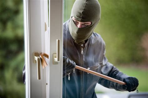 think like a burglar when securing your home