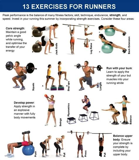printable exercise program for seniors 13 exercises for runners step by step with pictures