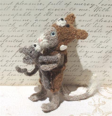 mouse pattern etsy cat mouse knit pattern