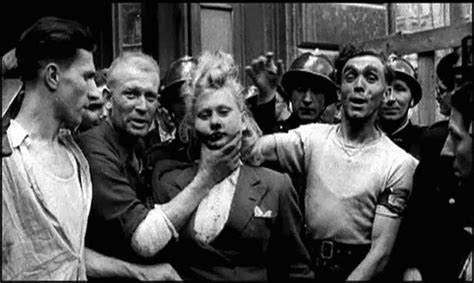 haircuts poland maine les femmes tondues en 1944