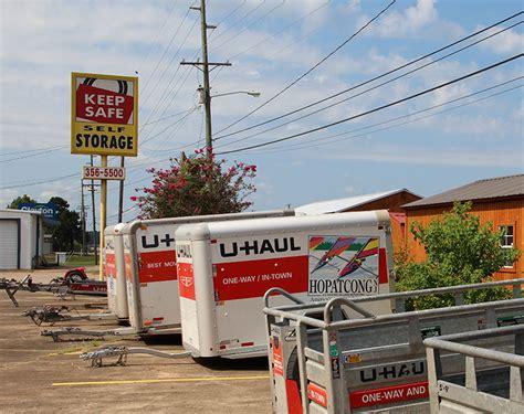 u haul boat trailer rental self storage facilities in natchitoches la keep safe