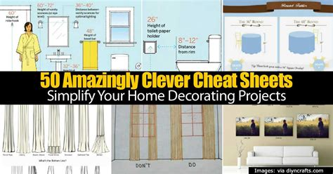 simplify your home 50 clever cheat sheets to simplify your home decorating