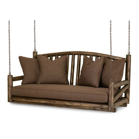 rustic porch swing porch swing 1233 traditional transitional rustic folk