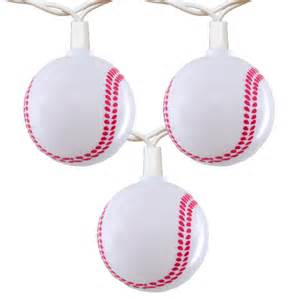 baseball string lights baseball string lights novelty lights 10 lights