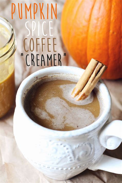 pumpkin spice for coffee diy pumpkin spice coffee creamer the plant philosophy