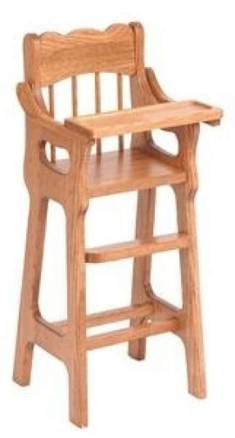 Wooden Doll High Chair Plans by Jet Planer Blades Wood Working Routers Amish Wooden Doll