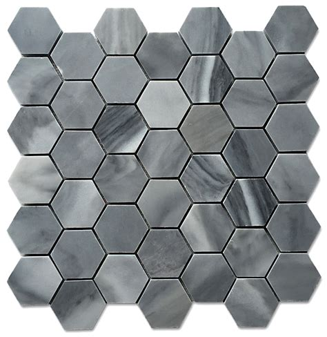 Honeycomb Mosaic Floor Tiles by Graystoke 2x2 Quot Hexagon Honeycomb Honed Mosaic Floor Wall Tile