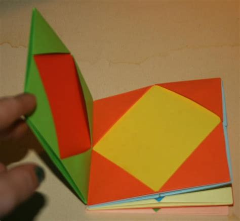 Origami Book Tutorial - 104 best images about book ideas on