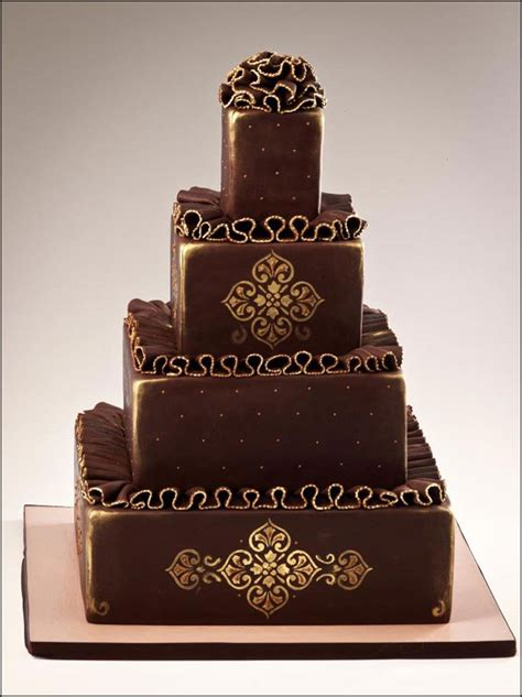 Chocolate Wedding Cake Designs by Chocolate Wedding Cakes That Are Simply Sinful