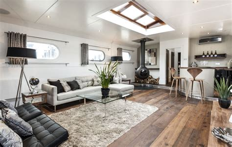 floating home interiors for west coast living yours for just 163 1 7m the thames penthouse in an old