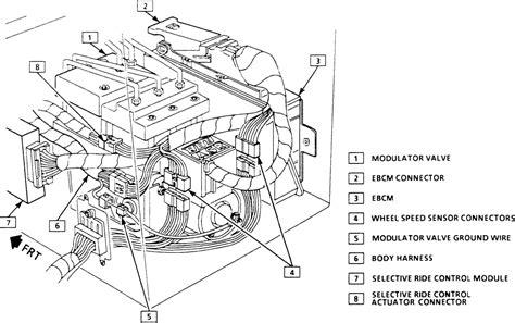repair anti lock braking 1991 pontiac grand prix parking system repair guides anti lock brake system modulator valve autozone com