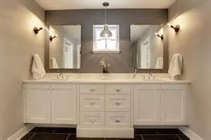 Grey Quartz Bathroom Countertop Design Ideas