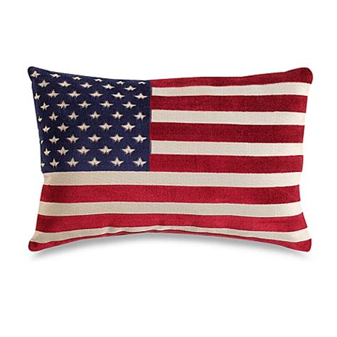 Bed Bath Beyond Decorative Pillows | american flag 20 inch decorative throw pillow bed bath