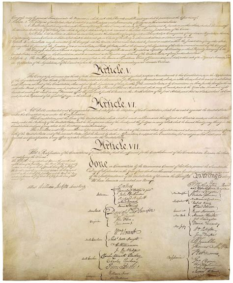 sections of the us constitution zoom in on the united states constitution the colonial