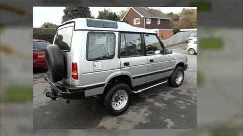 1997 land rover discovery road 1997 land rover discovery tdi automatic 7 seater 01980