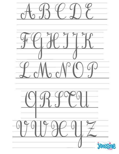 lettere corsive comment dessiner les lettres cursives majuscules fr