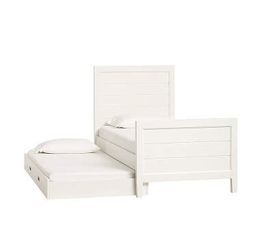 Pottery Barn Trundle Bed Assembly by Emery Trundle Pottery Barn