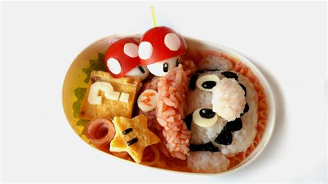Some Sushi Mario Style With The Mario Bento Boxes by Mario Bento Tutorial