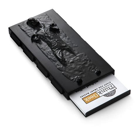Cool Coffe Mugs by Han Solo In Carbonite Business Card Case