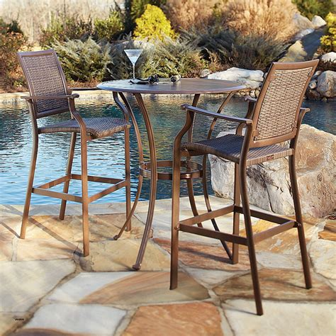 high top patio table set tables and chairs outdoor dining