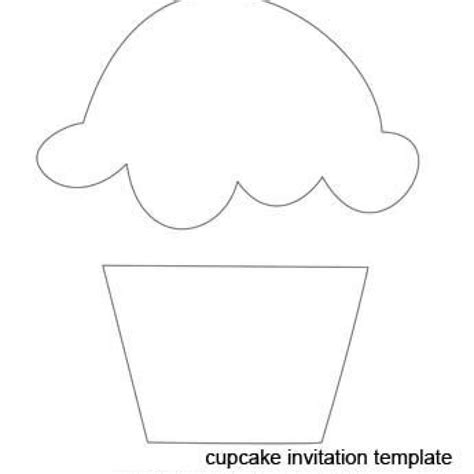 cupcake template to print best 25 cupcake template ideas on felt