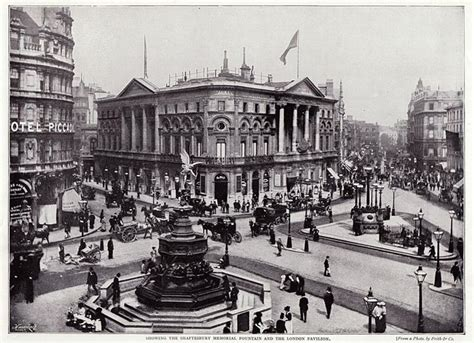 tattoo london piccadilly 1000 images about towns cities in old photographs on