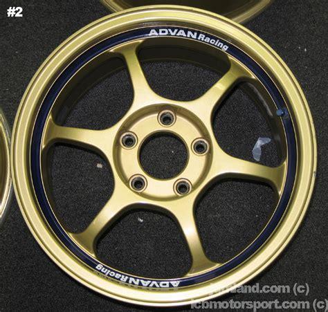 Advan 10 Inch advan rg gold 16 quot 5x114 3 mint sold