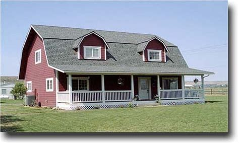 gambrel style house house plans with barn style roof escortsea