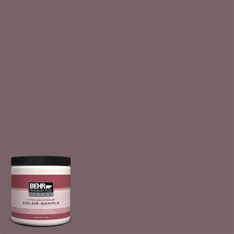 behr premium plus ultra 8 oz ul160 23 espresso beans interior exterior paint sle ul160 23