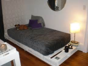 Diy Platform Bed Made From Pallets Diy Pallet Bed Your Own Creativity Ideas 101 Pallets