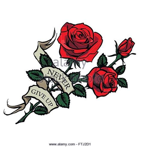 the rose tattoo stock photos amp the rose tattoo stock