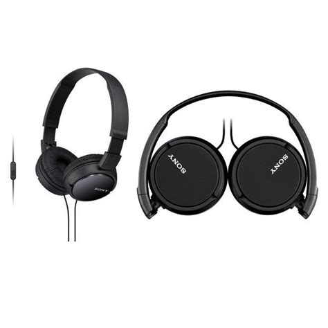 Sony Headphones Mdr Zx110 Ap sony mdr zx110ap b headphones folding for smartphone mdrzx110ap black genuine ebay