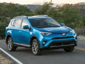 Toyota Rav4 Blue 2016 Toyota Rav4 Buyer S Guide Kelley Blue Book