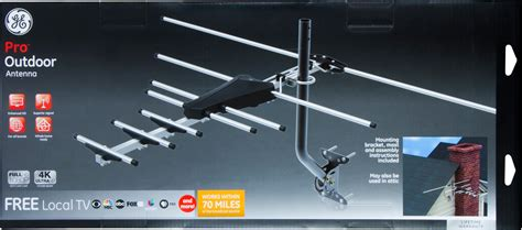 ge  attic mount hd antenna instructions image