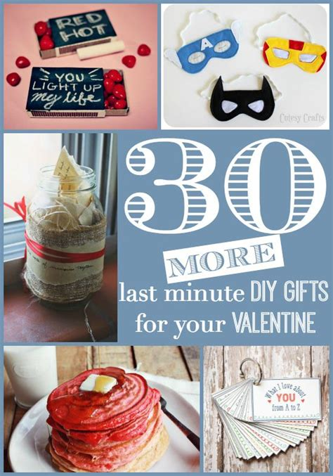 More Valentines Gift Ideas by 30 More Last Minute Diy Gifts For Your No More