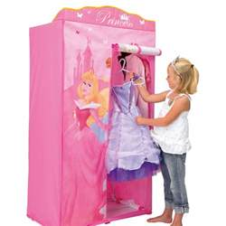disney princess fabric wardrobe bedroom furniture new ebay