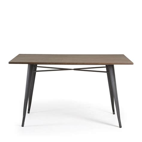 Table Metal Et Bois by Table M 233 Tal Et Bois Indoor Outdoor 150x80 Mali By Drawer