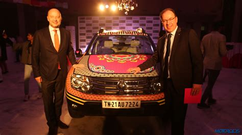 Daster Bali Ambasador artistically designed renault duster unveiled at the