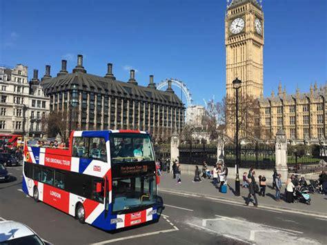 Original Tour London Open Top Sightseeing Tour Discounted ...