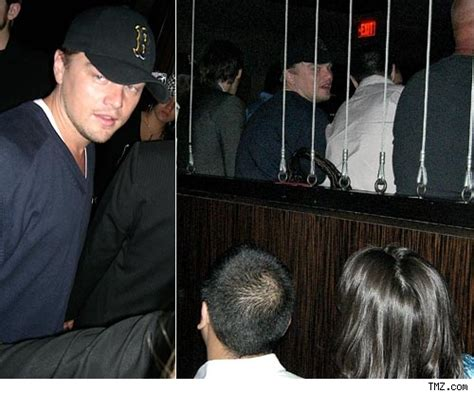 what is dicaprio s haircut called leo takes the bar to vegas tmz com