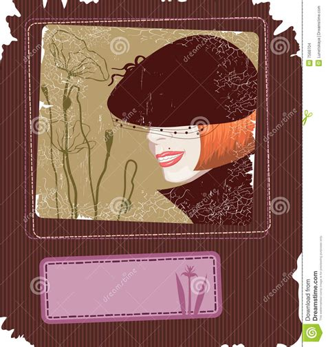 retro style card stock images image 7568704