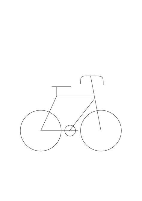 imagenes de bicicletas faciles para dibujar p3 expresi 243 n gr 225 fica