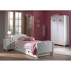 lit 1 personne blanc design pour chambre de moderne