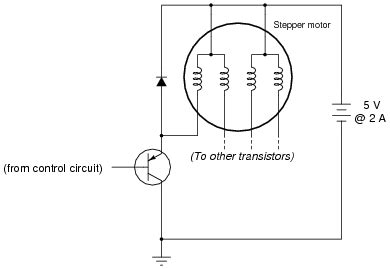 importance of free wheeling diode stepper motors worksheet
