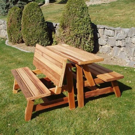how to make picnic bench pdf woodwork picnic table and bench plans download diy