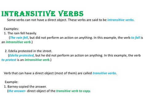 sentence pattern intransitive verb the gallery for gt intransitive verb