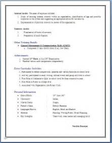 Resume Format Mba 1 Year Experience 3 Years Experience Resume In Accounting