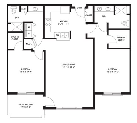 spacious terrace villa floor plans tucson retirement community